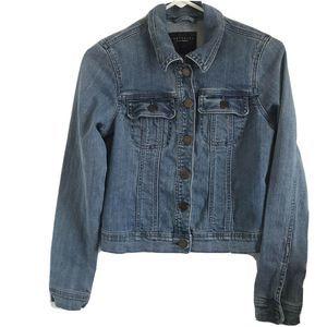 Sanctuary Los Angeles Medium Wash Denim Jacket